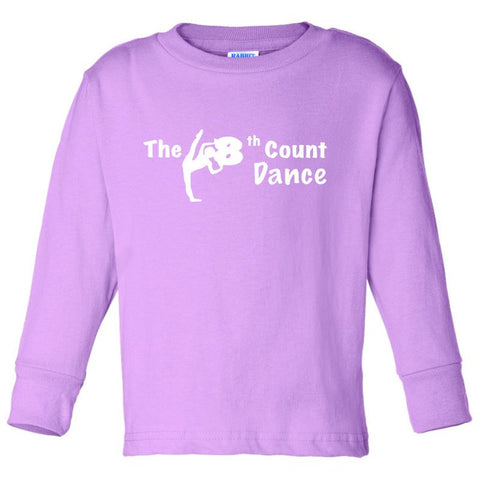 8th Count (PW) Toddler  Long Sleeve Tee