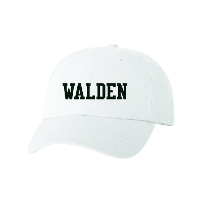 Walden Solid Embroidered Baseball Cap