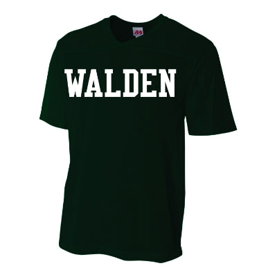 Walden Solid V Neck Football Jersey