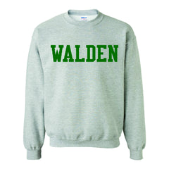 Walden Solid Crew Neck Sweatshirt