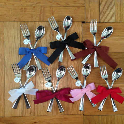 Grace of the Goddess Cutlery clip fork spoon sweets decadent edibles lolita
