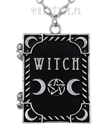 Witch Locket Necklace