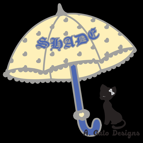 Shade Pin,  Pin, Grace of the Goddess gothic kawaii sweet Lolita Collective
