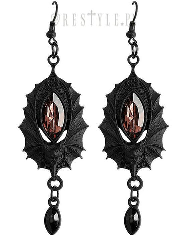 Bat Earrings in Black,  Earrings, Restyle gothic kawaii sweet Lolita Collective