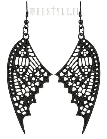 c45cb95b5 Butterfly Cathedral Earrings, Earrings, Restyle gothic kawaii sweet  japanese street fashion japan decora Lolita