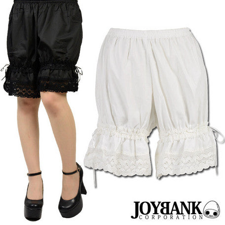 Torchon Lace Sweet Drawers (2 Colors),  Bloomers, JoyBank gothic kawaii sweet Lolita Collective
