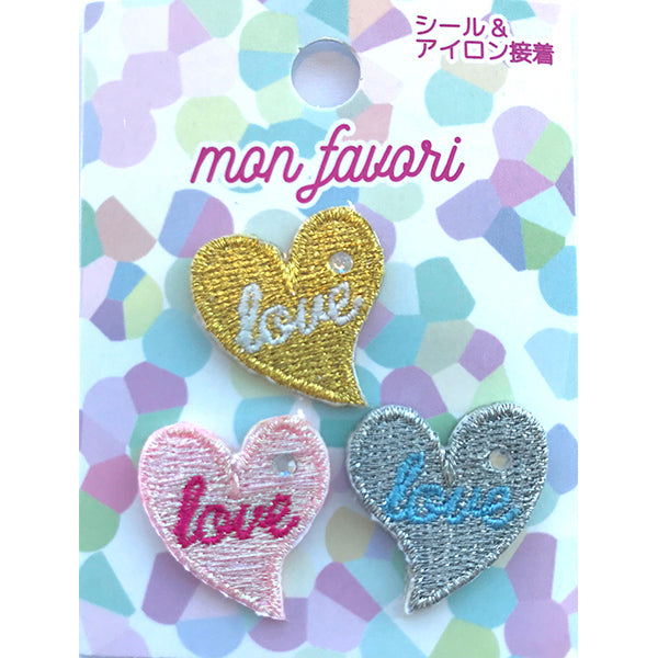 Yumekawa Heart Patch,  Patch, Sunhit gothic kawaii sweet japanese street fashion japan decora Lolita Collective