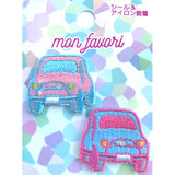 Yumekawa Cars Patch,  Patch, Sunhit gothic kawaii sweet japanese street fashion japan decora Lolita Collective