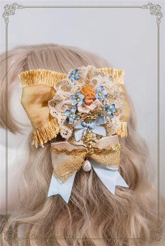 Circus Princess Angel Brooch (3 Colors),  Brooch, Baby Ponytail gothic kawaii sweet Lolita Collective