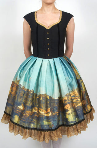 Old Master Jumperskirt,  Jumperskirt, Eat Me Ink Me gothic kawaii sweet japanese street fashion japan decora Lolita Collective