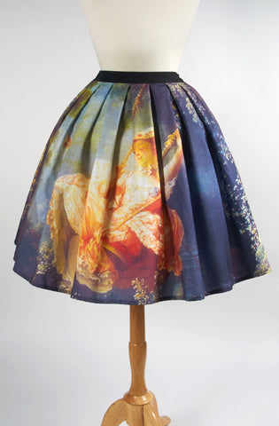 Eat Me Ink Me Fragonard Swing Skirt french lolita rococo