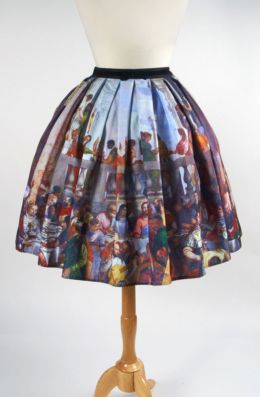 Eat Me Ink Me Painting Last Supper Skirt lolita jesus