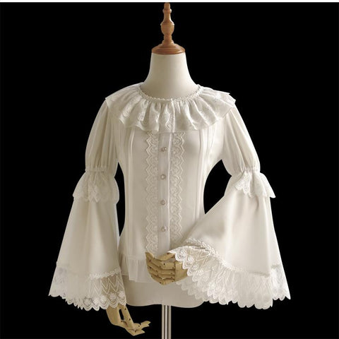Bell Sleeve Blouse (4 Sizes)