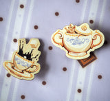 Sugar Pot and Cup Pin Set (3 Colors)