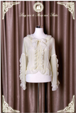 Princess Sleeves Blouse in Cream,  Blouse, Long Ears Sharp Ears gothic kawaii sweet Lolita Collective