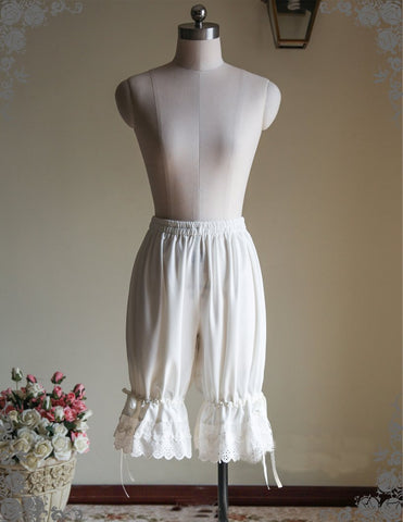 Long Satin Bloomers (2 Colors)
