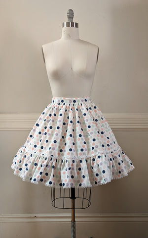 Pastel Dot Skirt,  Skirt, The Black Ribbon gothic kawaii sweet japanese street fashion japan decora Lolita Collective