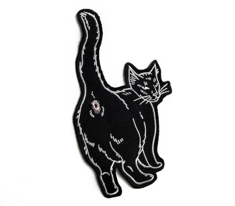 Cat Butt Patch,  Patch, Cat Coven gothic kawaii sweet japanese street fashion japan decora Lolita Collective
