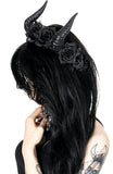 Beleth Horns and Roses Headband,  Headband, Restyle gothic kawaii sweet japanese street fashion japan decora Lolita Collective