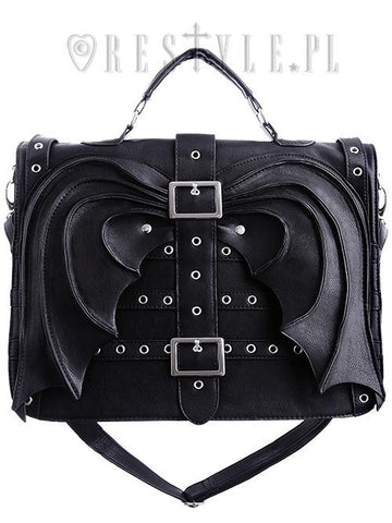 Bat Wings Satchel,  Bag, Restyle gothic kawaii sweet Lolita Collective
