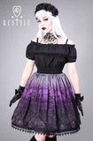 Cemetery Skirt in Purple,  Skirt, Restyle gothic kawaii sweet japanese street fashion japan decora Lolita Collective