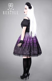 Cemetery Skirt in Purple