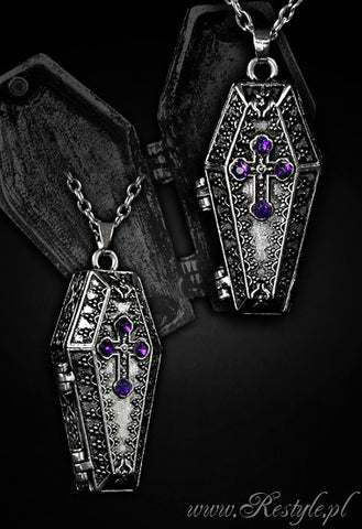 Coffin Chest Necklace