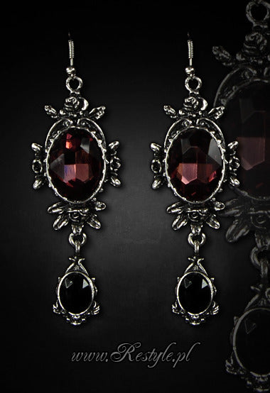 Wild Roses Earrings,  Earrings, Restyle gothic kawaii sweet Lolita Collective