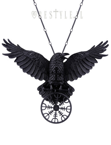 Helm of Awe Pendant Necklace,  Necklace, Restyle gothic kawaii sweet Lolita Collective