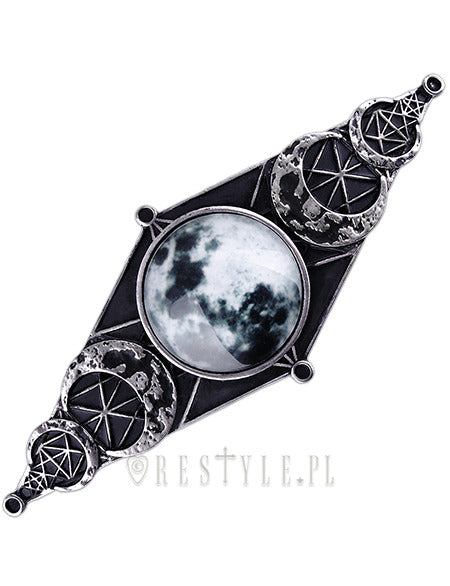 Moon Geometry Hair Clip