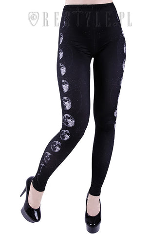 Restyle Moon Phase Leggings
