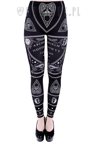Ouija Leggings,  Leggings, Restyle gothic kawaii sweet japanese street fashion japan decora Lolita Collective