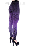 Purple Branch Leggings,  Leggings, Restyle gothic kawaii sweet japanese street fashion japan decora Lolita Collective