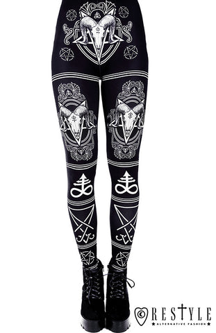 Satanic Leggings