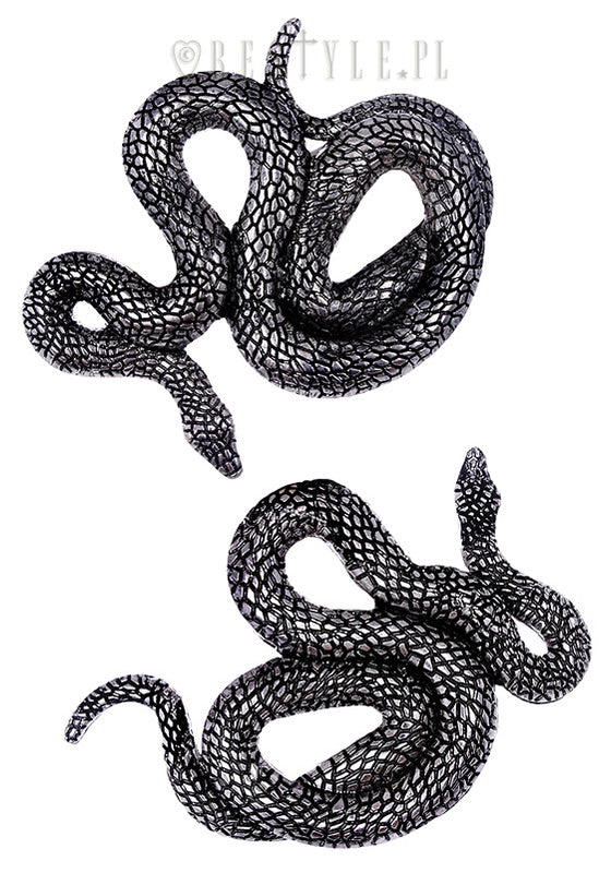 Snakes Hairclips,  Hair Clip, Restyle gothic kawaii sweet japanese street fashion japan decora Lolita Collective