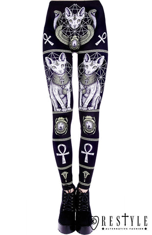Sphynx Cat Leggings