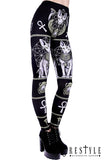 Sphynx Cat Leggings,  Leggings, Restyle gothic kawaii sweet japanese street fashion japan decora Lolita Collective