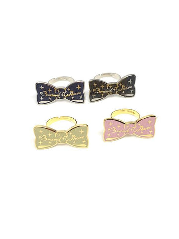 Brand Whore Bow Ring (4 Colors)