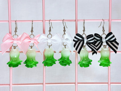 Bok Choy Earrings (3 Colors)