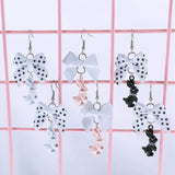 Fancy Pearl Rabbit Earrings (3 Colors),  Earrings, Interspecies Friendship gothic kawaii sweet japanese street fashion japan decora Lolita Collective