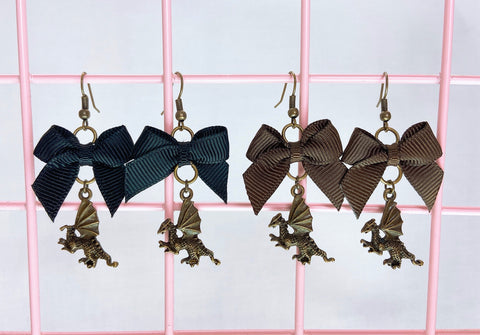 Dragon Earrings (2 Colors)