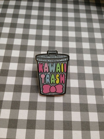 Kawaii Trash Enamel Pin