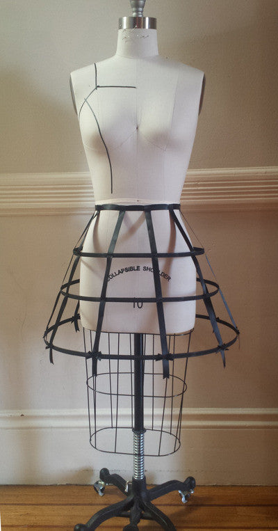 Classic Cage Crinoline,  Petticoat, The Black Ribbon gothic kawaii sweet Lolita Collective
