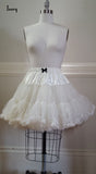Fluffy Petticoat - Ivory,  Petticoat, The Black Ribbon gothic kawaii sweet Lolita Collective