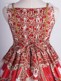 Masquerade Ballet Jumperskirt in Red,  Jumperskirt, Baby Ponytail gothic kawaii sweet japanese street fashion japan decora Lolita Collective