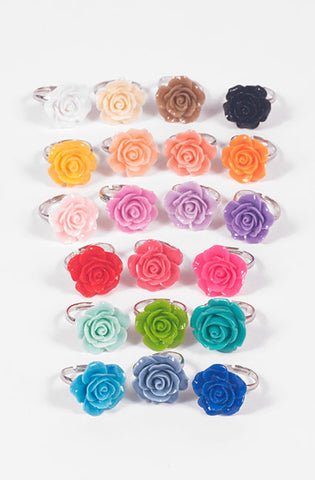 Rose Ring (21 Colors),  Ring, Maiden Loliland gothic kawaii sweet Lolita Collective