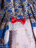 Masquerade Ballet Onepiece in Royal Blue,  Onepiece, Baby Ponytail gothic kawaii sweet japanese street fashion japan decora Lolita Collective
