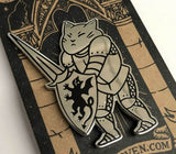 Victory Cat Pin