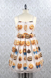 R Series Ribbon Cookies Jumperskirt Cream