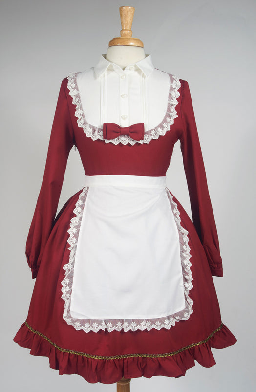 Souffle Song Little Red Riding Hood One Piece Dress lolita foxes